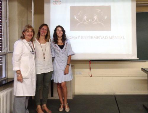 Charla en Universidad Complutense sobre el estigma asociado a la enfermedad mental