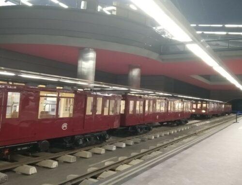 Visita estación museo metro de Madrid